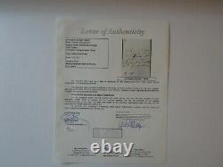 RARE Queen Victoria Hand Written Document Signed JSA Full LOA