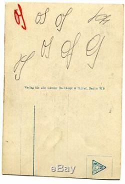 RICHARD STRAUSS, orig. Autogramm, Autograph, hand signed