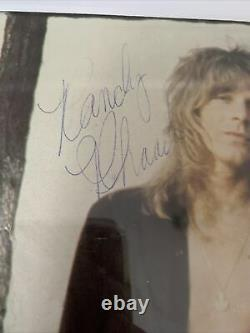 Randy Rhoads Hand Signed Autographed Framed 8x10 Picture COA Ozzy Guitarist RARE