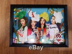 Red Velvet 2014 HAPPINESS Broadcasting Teaser Autographed Hand Signed irene