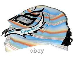 Rey Mysterio Jr 619 Hand Signed Roots Of Fight Wrestling Mask With Psa Coa Loa