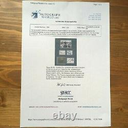 River Phoenix + 3 cast hand signed autograph display UACC RD Stephen King