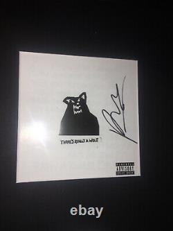 Russ Rapper Hand Signed Autographed Cd Theres Really A Wolf WithPROOF Framed