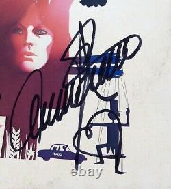 SIGNED x 4 ABBA AUTOGRAPH hand signed ALBUM Japan Agnetha Annifrid Bjorn Benny