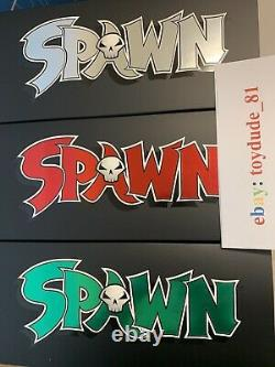 SPAWN KICKSTARTER 3 PACK TRILOGY Todd McFarlane AUTOGRAPHED. IN HAND! FREE SHIP