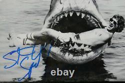 STEVEN SPIELBERG on set of JAWS Hand-signed 8 x 10 Framed + COA CERTIFICATE