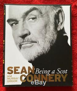 Sean Connery Hand Signed Being A Scot Book Autograph James Bond 007