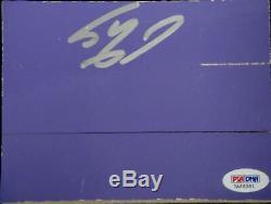 Shaq Shaquille O'Neal Hand Signed Autographed Original Staples Floor PSA / DNA