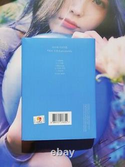Signed album / photo IU Chat Shire Love poem Lee JiEun Hand Autograph