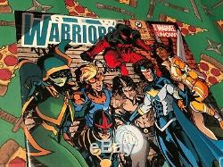 Stan Lee Hand Signed Autographed Marvel New Warriors #08 Comic Book with PSA COA