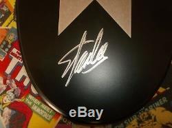 Stan Lee Hand Signed Metal Wolverine Claws X-men Plaque Hologram Coa Autograph