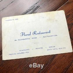 THE BEATLES JSA LOA Hand Signed Autograph Card John Lennon George Harrison