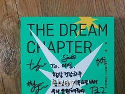 TXT Album Autographed Hand Signed