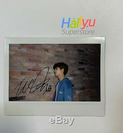 Taeil (of NCT127) Hand Autographed(signed) Promo Polaroid