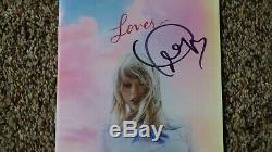 Taylor Swift Autographed Hand Signed Lover Booklet + ME! CD Single IN HAND