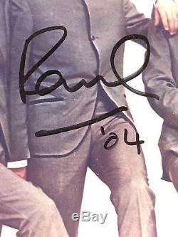 The Beatles / Paul Mccartney & Ringo Starr / Genuine Hand-signed Photo / Psa