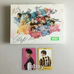 The Boyz'the Start Set' All Member Hand Signed Autographed Album + Photocard
