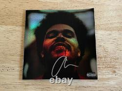 The Weeknd After Hours Signed Holographic Jewel CD & Autograph Booklet IN HAND