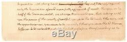 Thomas Jefferson Autograph Document Signed with Nearly 100 Words in His Hand