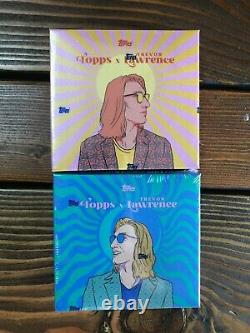 Trevor Lawrence 2021 Topps X Project 2x Sealed Box Set Lot15 Auto! In Hand