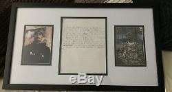 Tupac Shakur 2pac Signed Autographed Hand Written Lyrics JSA