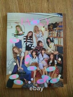 Twice Fancy Promo Album Autographed Hand Signed
