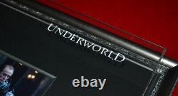 UNDERWORLD Prop SCROLL & HAND, signed BILL NIGHY Autograph, DVD COA, Frame, UACC