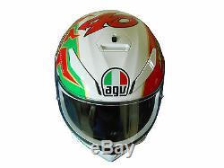 Valentino Rossi Hand Signed AGV Helmet MotoGP Legend Very Rare