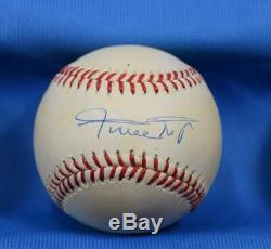 Willie Mays Jsa Giants Autograph National League Onl Hand Signed Baseball