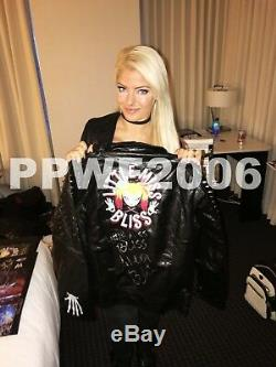 Wwe Alexa Bliss Little Miss Bliss Hand Signed Autographed Jacket With Pic Proof