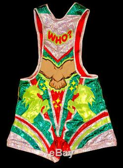 Wwe Big E Ring Worn Hand Signed Autographed Wrestling Singlet With Coa