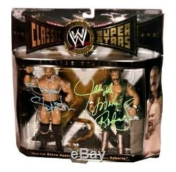 Wwe Classic Stone Cold And Jake Hand Signed Autographed Action Figure With Coa
