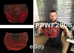 Wwe Finn Balor Ring Worn Hand Signed Royal Rumble Autographed Trunks With Proof