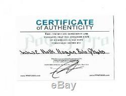 Wwe Hulk Hogan Hand Signed Autographed 8x10 Photo With Hologram And Coa 7