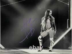 Wwe Sasha Banks Hand Signed Autographed 11x14 Limited Black/white Photo 25 Of 50