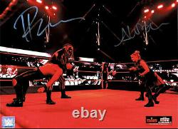 Wwe The Fiend Bray Wyatt And Alexa Bliss Hand Signed Autographed 11x14 Photo Ltd