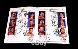 Wwe Wwf Autograph Book Hand Signed By 72 Guerrero Benoit Undertaker Vince Rare