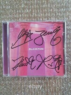 Yg Blackpink 2017 Digital Single Promo Album Autographed Hand Signed