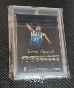 1996-97 Kevin Garnett Skybox Autographics Rare Ssp Sur Carte Auto