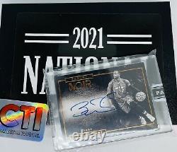 2015-16 Panini Noir Basketball Dwyane Wade Sur Carte Auto 2021 Nscc Black Box 1/1