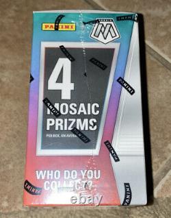 2019-2020 Panini Nba Prizm Mosaic Blaster Box Fabrique Scellée Dans Les Narines Maintenant
