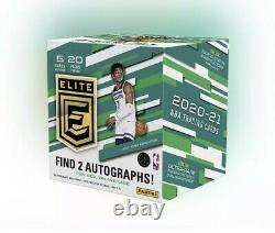 2020-21 Panini Donruss Elite Nba Trading Cards Hobby Box Scellé À La Main