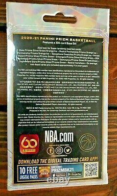 2020-21 Panini Prizm Nba Boîte À Cintres De Basketball Scellée Dans Un Bateau Libre Lamelo