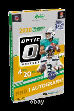 2020 Panini Donruss Optic Football Fotl Hobby Scelled Case (12 Boîtes) In Hand