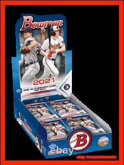 2021 Bowman Baseball Hobby Box Scelled In Hand Topps Autographes