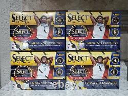 2021 Nba Panini Sélectionner Au Détail Mega Box Lot De 4 Factoires Seeled & In Hand