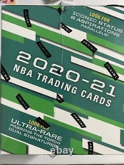 2021 Panini Donruss Elite Nba Trading Cards Hobby Box En Main