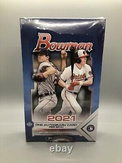 2021 Topps Bowman Baseball Hobby Box Usine Scellée Dans Les Narines Maintenant