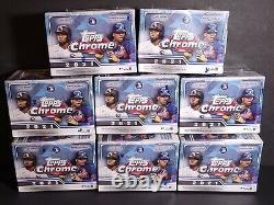 2021 Topps Chrome Mlb Baseball Blaster (8) Lot De Boîte En Main Hot Hot! Navires Libre