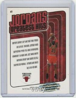 #23 Carte De Basket-ball Autographe Michael Jordan Avec Les Taureaux De Chicago Signés À La Main Par Le Coa